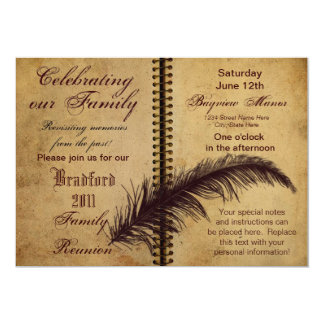 Family Reunion Invitations - Classic Design