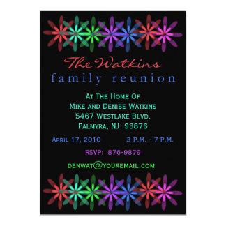 Family Reunion Invitations in Multi Colors
