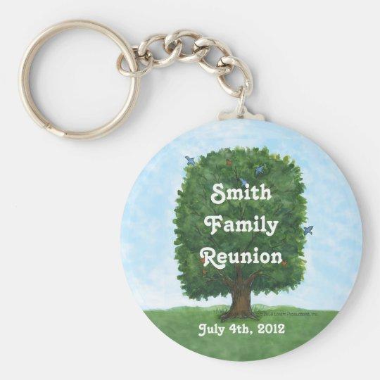 Family Reunion Keepsake Key Ring