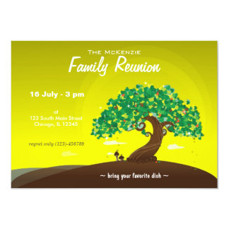 Family Reunion (Lime) Card