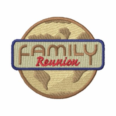 Family Reunion Logo Embroidered Jacket