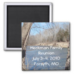 Family Reunion Magnet-customize 2 Inch Square Magnet