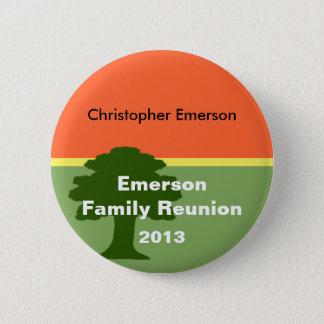 Family Reunion Name Tag Pin