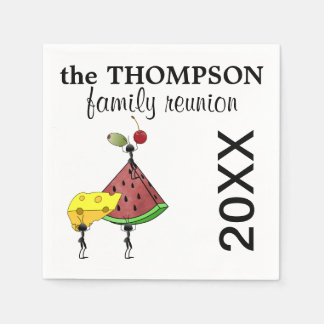 Family Reunion Napkins