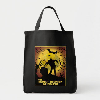 Family Reunion Of Death Grocery Tote Bag