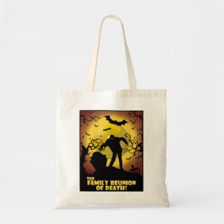 Family Reunion Of Death Budget Tote Bag
