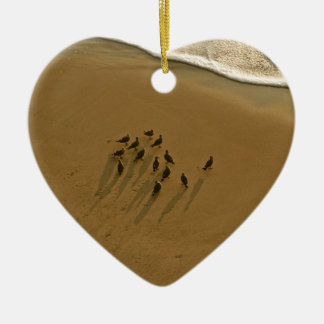 FAMILY REUNION OF SORTS AT THE BEACH CERAMIC ORNAMENT