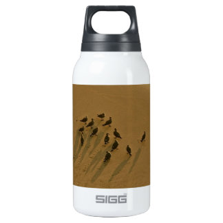 FAMILY REUNION OF SORTS AT THE BEACH INSULATED WATER BOTTLE
