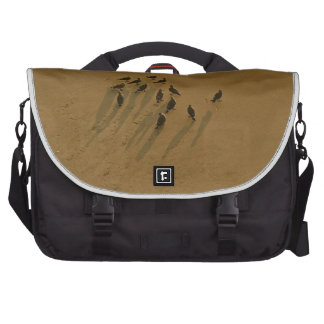 FAMILY REUNION OF SORTS AT THE BEACH LAPTOP MESSENGER BAG