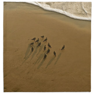 FAMILY REUNION OF SORTS AT THE BEACH NAPKIN