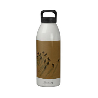 FAMILY REUNION OF SORTS AT THE BEACH REUSABLE WATER BOTTLES