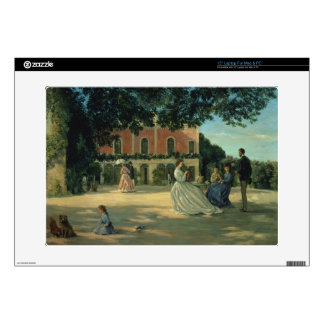 """Family Reunion on the Terrace at Meric, 1867 15"""" Laptop Decals"""