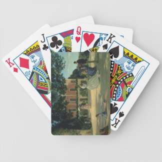 Family Reunion on the Terrace at Meric, 1867 Bicycle Playing Cards