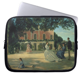 Family Reunion on the Terrace at Meric, 1867 Computer Sleeve