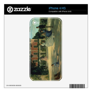 Family Reunion on the Terrace at Meric, 1867 Decal For The iPhone 4