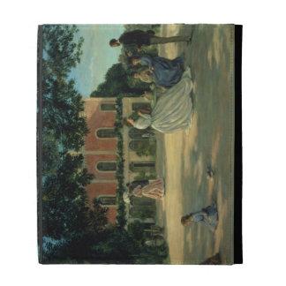 Family Reunion on the Terrace at Meric, 1867 iPad Folio Case