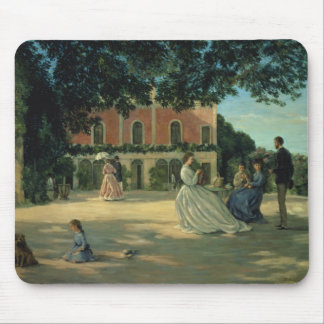 Family Reunion on the Terrace at Meric, 1867 Mouse Pad