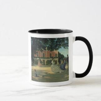Family Reunion on the Terrace at Meric, 1867 Mug