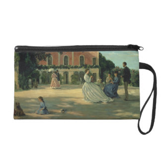 Family Reunion on the Terrace at Meric, 1867 Wristlet Purse