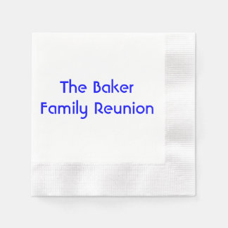 """Family Reunion"" Paper Napkins"