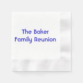 """Family Reunion"" Paper Napkins"