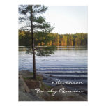 Family Reunion Party Invitations Forest