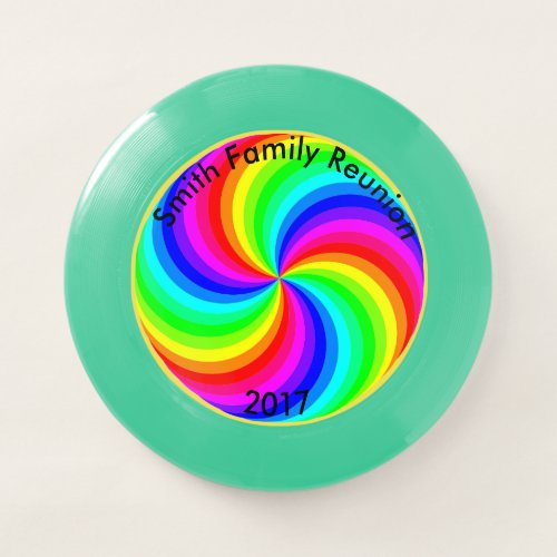 Family Reunion Personalize Your Phrase  Year Wham_O Frisbee