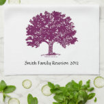 Family Reunion Personalized Kitchen Towel