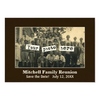Family Reunion Photo Template Announcement
