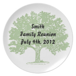 Family Reunion Plate