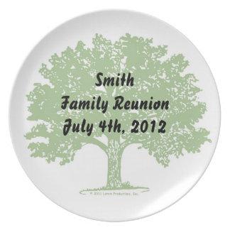 Family Reunion Plate