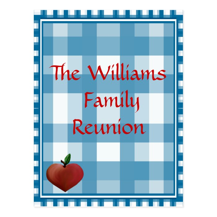 Family Reunion Post Card