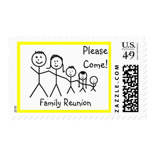 Family Reunion - postage stamps