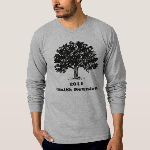 Family Reunion Shirt - Large Tree on front