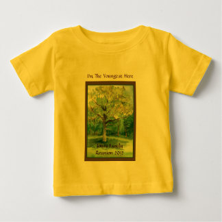 Family Reunion Shirt, Youngest, Shade Tree T-shirt