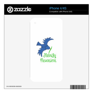 FAMILY REUNION iPhone 4S DECAL
