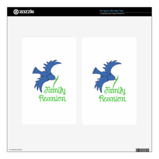 FAMILY REUNION KINDLE FIRE DECAL