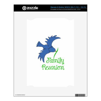 FAMILY REUNION NOOK DECAL