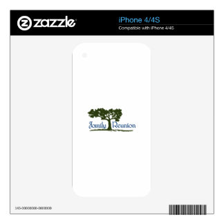 Family Reunion Skins For The iPhone 4S