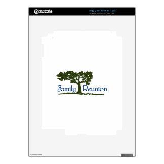 Family Reunion iPad 2 Decals