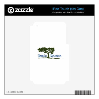 Family Reunion Skin For iPod Touch 4G