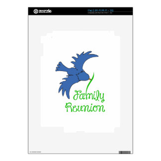 FAMILY REUNION DECAL FOR THE iPad 2