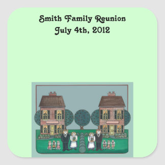 Family Reunion Stickers