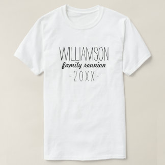 Family Reunion T-Shirts & Shirt Designs | Zazzle