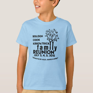 Family Reunion T-shirt Kids