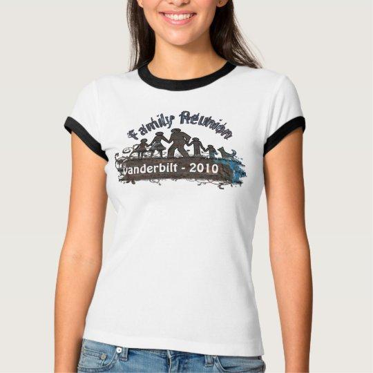Family Reunion T-shirt Swirls Grunge