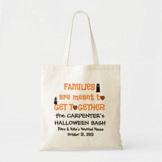 Family Reunion Totes, Halloween Treat Bags
