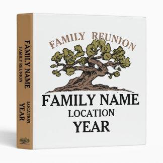 Family Reunion Tree 3-Ring Binder