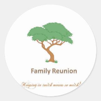 "Family Reunion Tree - 3"" Sticker (6 per sheet)"