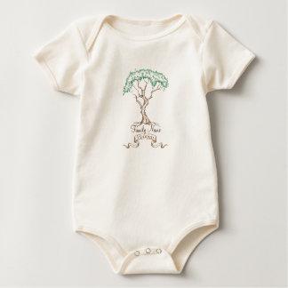 Family Reunion Tree Baby Bodysuit